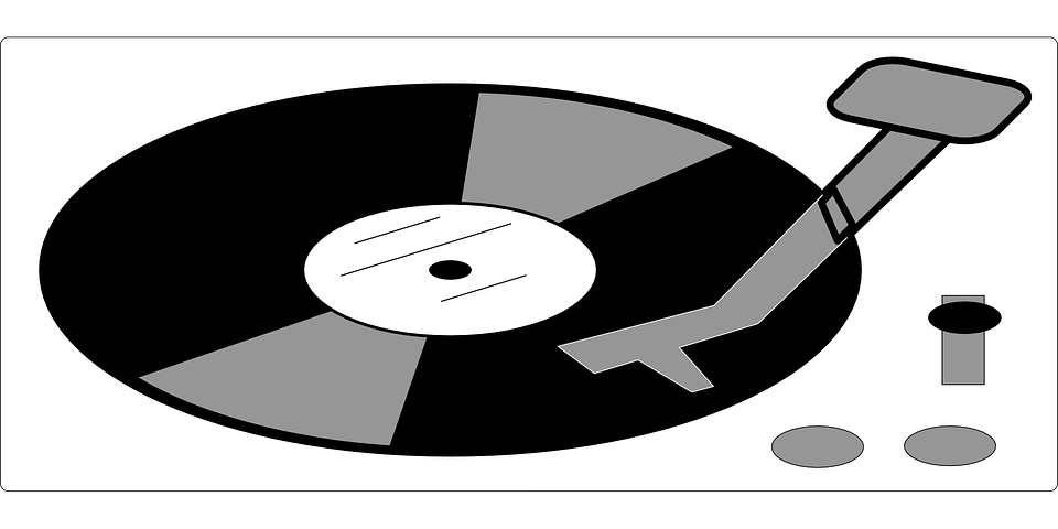Free vector graphic: Record, Vinyl, Old, Music, Player.