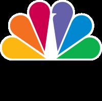 Logo of NBC.