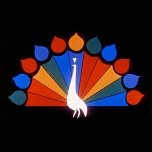 Original NBC peacock logo.