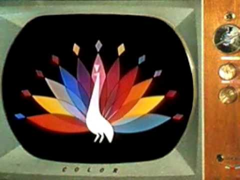 Original 1957 NBC Peacock.