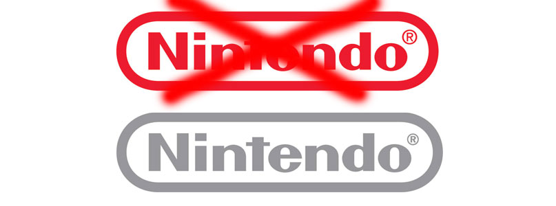 Nintendo Will Keep Grey Logo For At Least 2 Years.