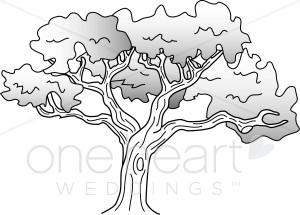 The Old Oak Tree.