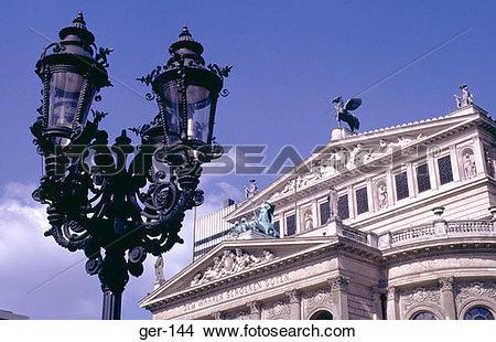 Stock Photo of The Alte Oper (Old Opera House) Frankfurt Germany.