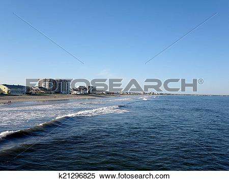 Stock Image of Old Orchard Beach, Maine k21296825.