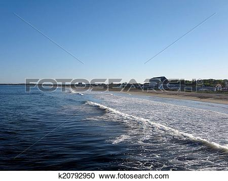 Stock Photography of Old Orchard Beach, Maine k20792950.