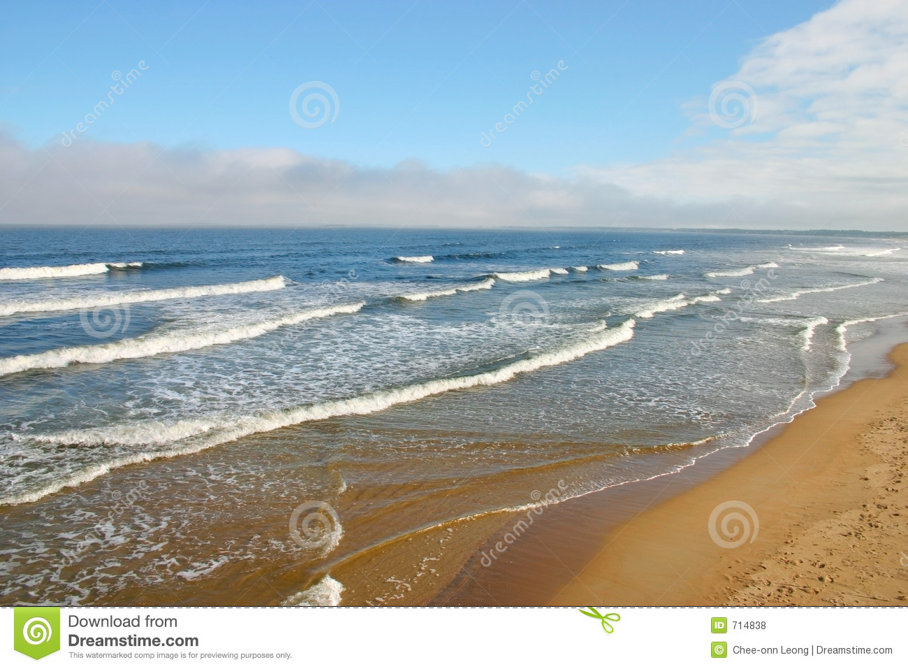 Old Orchard Beach, Maine Royalty Free Stock Photos.