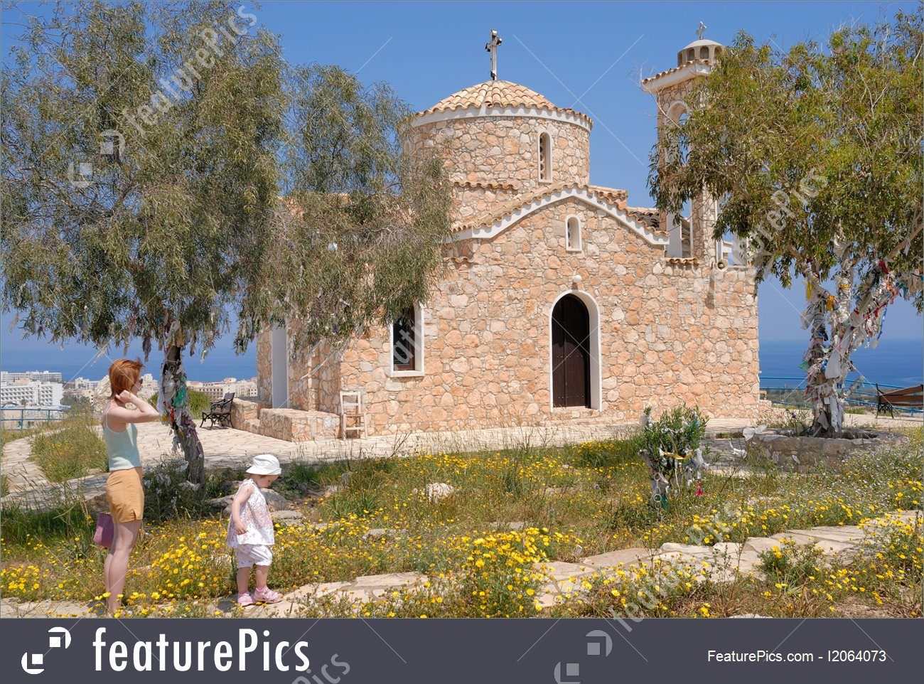 Picture Of Old Orthodox Church.