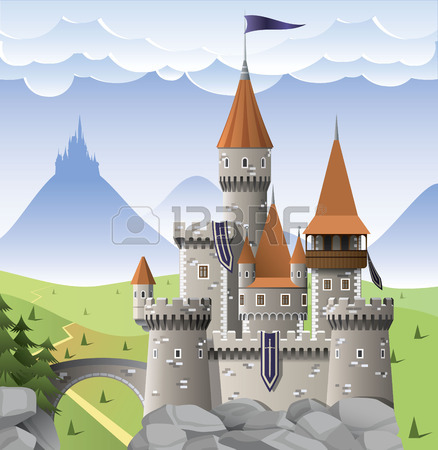 Castle Royalty Free Cliparts, Vectors, And Stock Illustration.