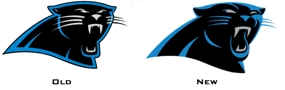 Panthers old Logos.