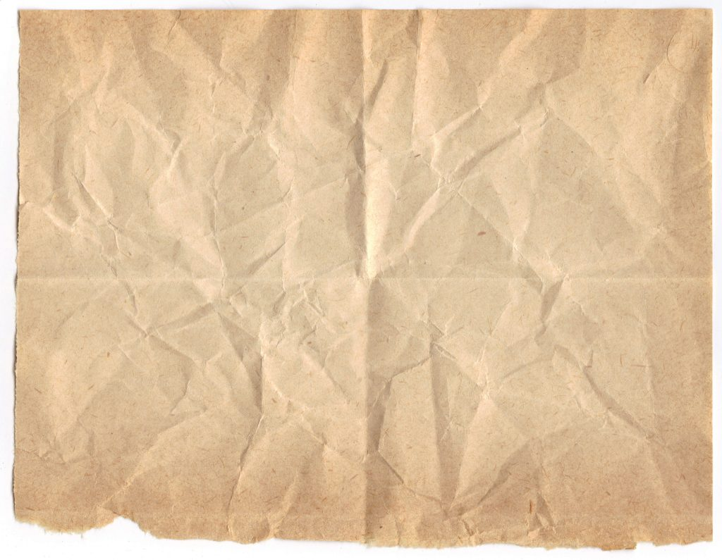 5 Crumpled and Folded Old Paper Textures (JPG).