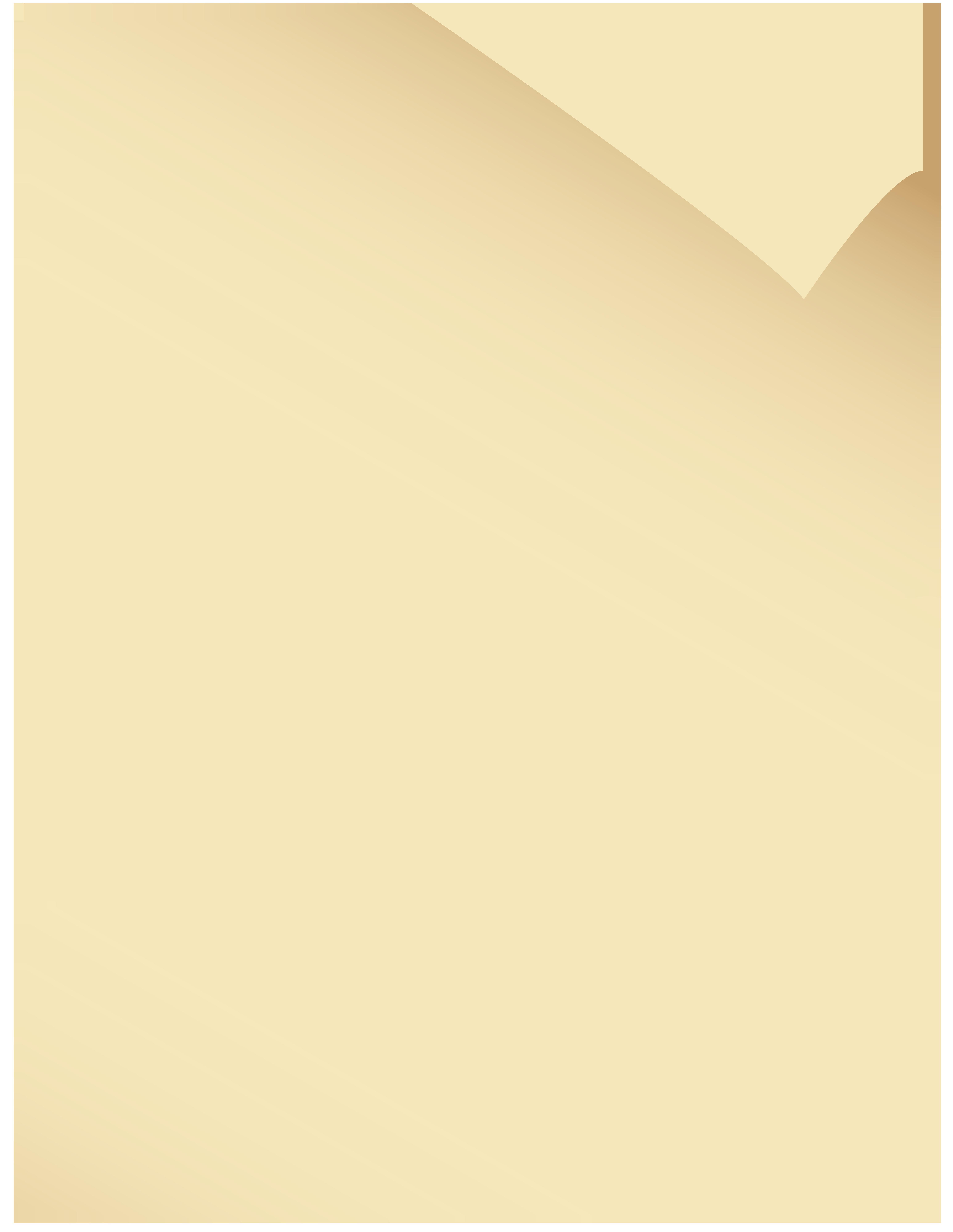 Old Paper Transparent PNG Clip Art Image.