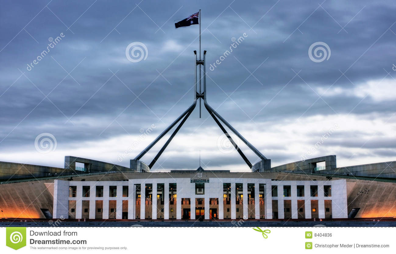 Parliament House Royalty Free Stock Image.