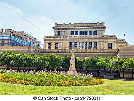 Stock Photography of Old Parliament House, Athens.