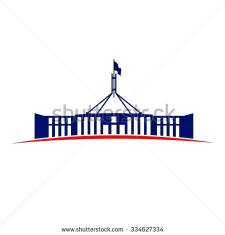 Australian parliament house clipart.