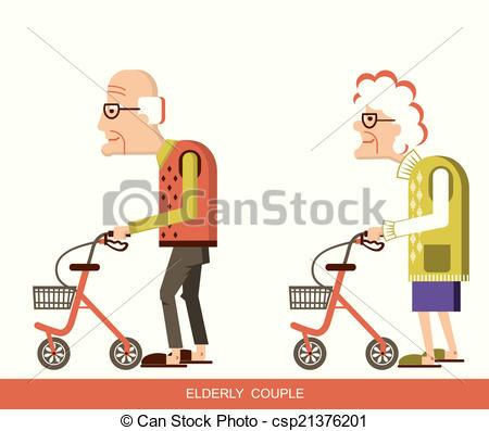 Elderly people Illustrations and Clip Art. 6,460 Elderly people.