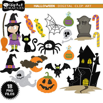 Halloween Clip Art Package, Trick or from MyPrintableMiracles on.