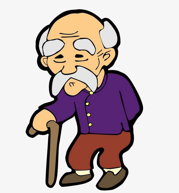 Old person clipart 8 » Clipart Station.