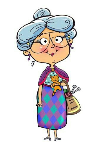 Old person clipart 2 » Clipart Station.