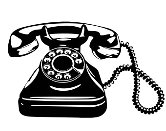 Phone Old Telephone Clipart Lady Retro Image Graphics Fairy.