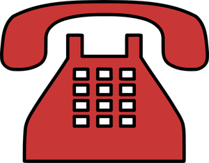 208 telephone free clipart.