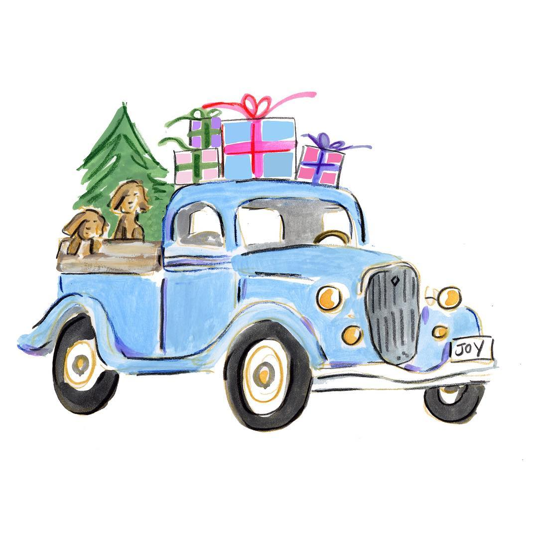 Pickup Truck Clipart Free.