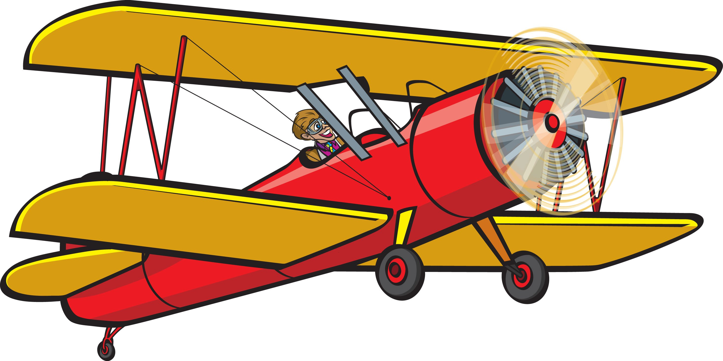 Old plane clipart 6 » Clipart Portal.