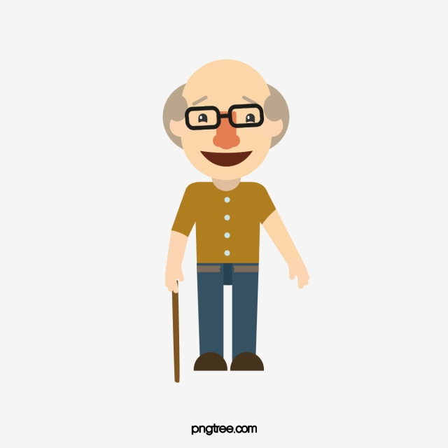 Old Man PNG Images.