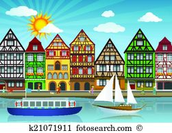 Old port Clip Art Illustrations. 886 old port clipart EPS vector.
