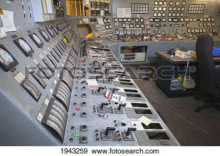 Stock Photograph of A Complicated Control Interface At An Old.