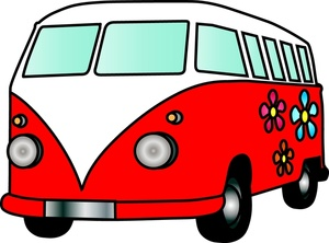 Old Hippie Clipart.