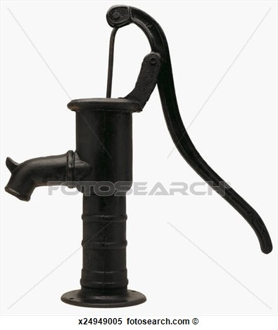 Old Fashioned Water Pump Clipart Clipground
