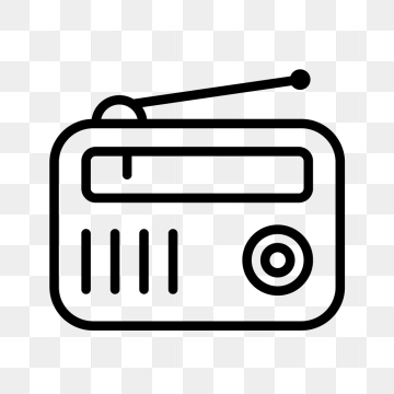 Old Radio Png, Vector, PSD, and Clipart With Transparent.