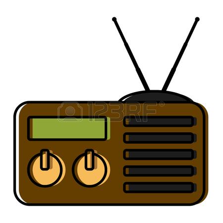 Old Radio Clipart.