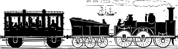 train clipart Train vintage railroad signs #clipart.