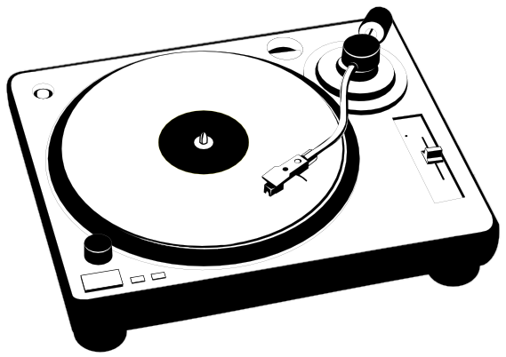 Gallery For > Vintage Record Player Clipart.