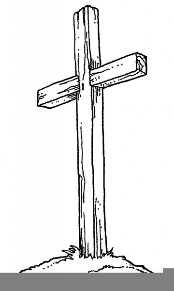 Rugged Cross Clipart.