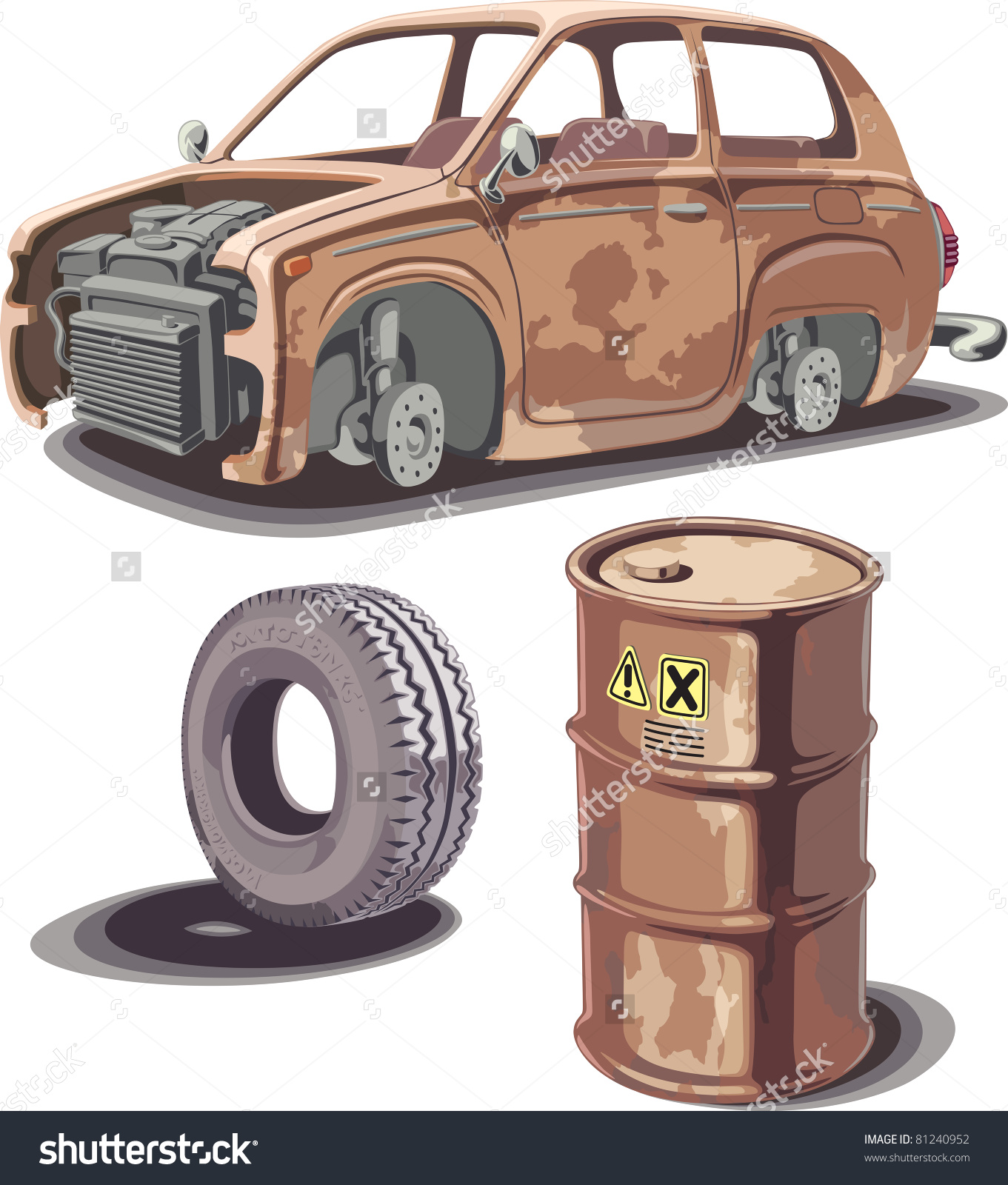 Showing post & media for Rusted car cartoon.