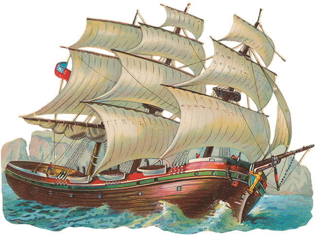 Sailing ship images clip art.