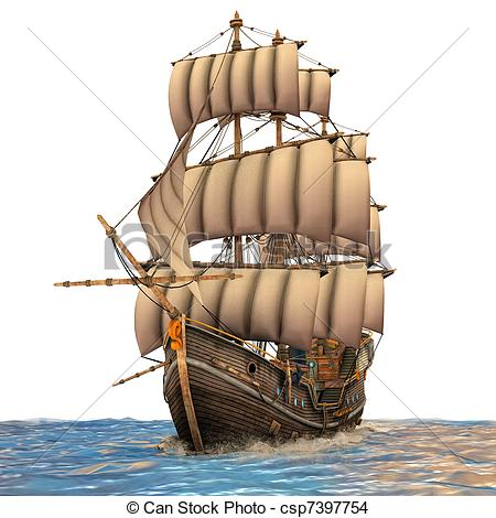 Tall ship Stock Illustrations. 662 Tall ship clip art images and.