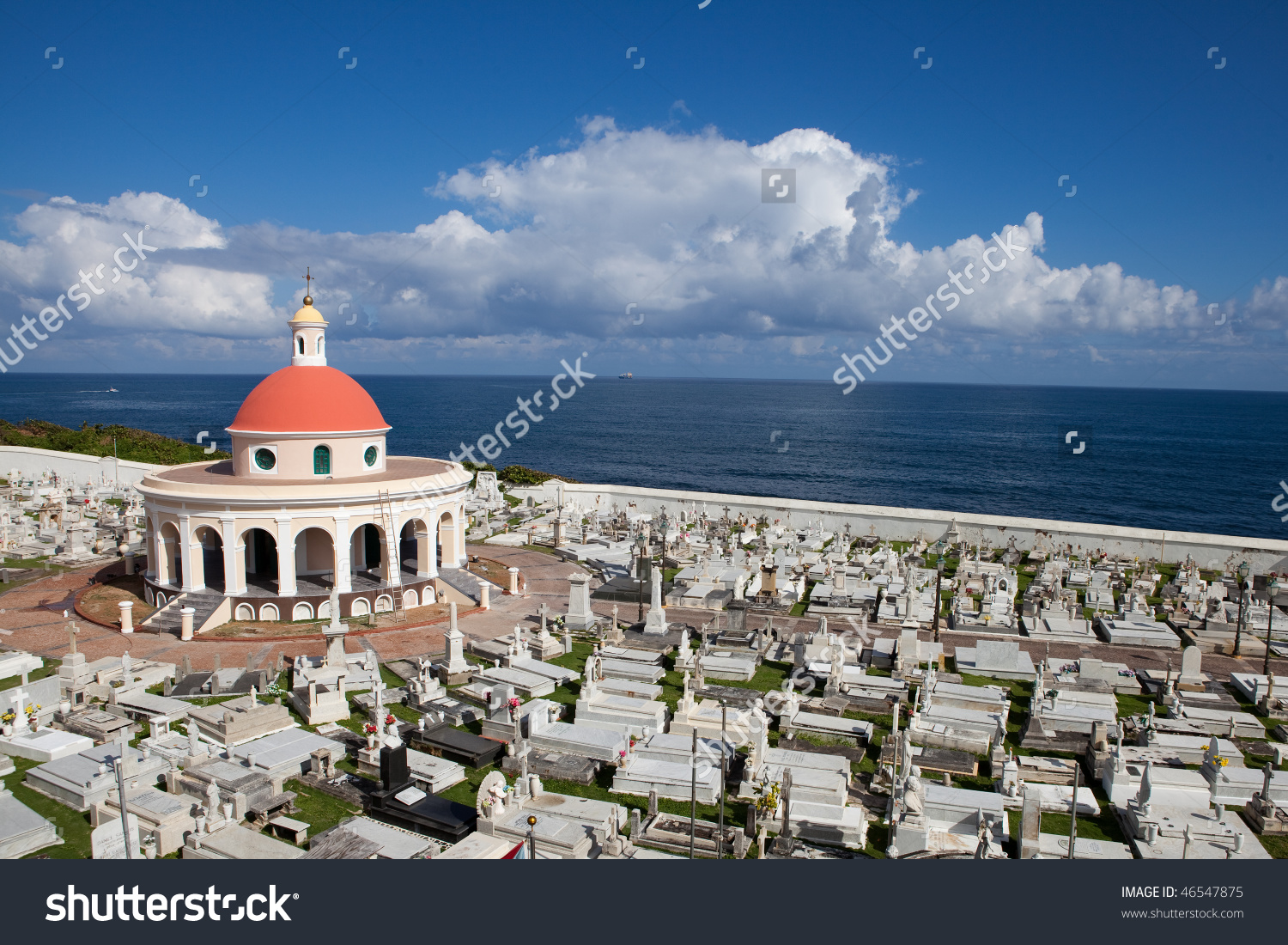 Old San Juan Cemetery Puerto Rico Stock Photo 46547875 : Shutterstock.