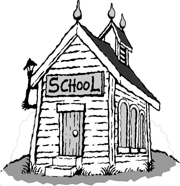 Old School House Clipart#1977452.
