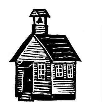 Schoolhouse old school house clipart.
