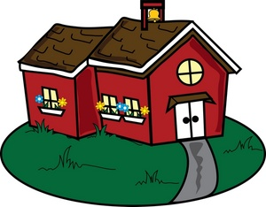 Old school house clipart 5.