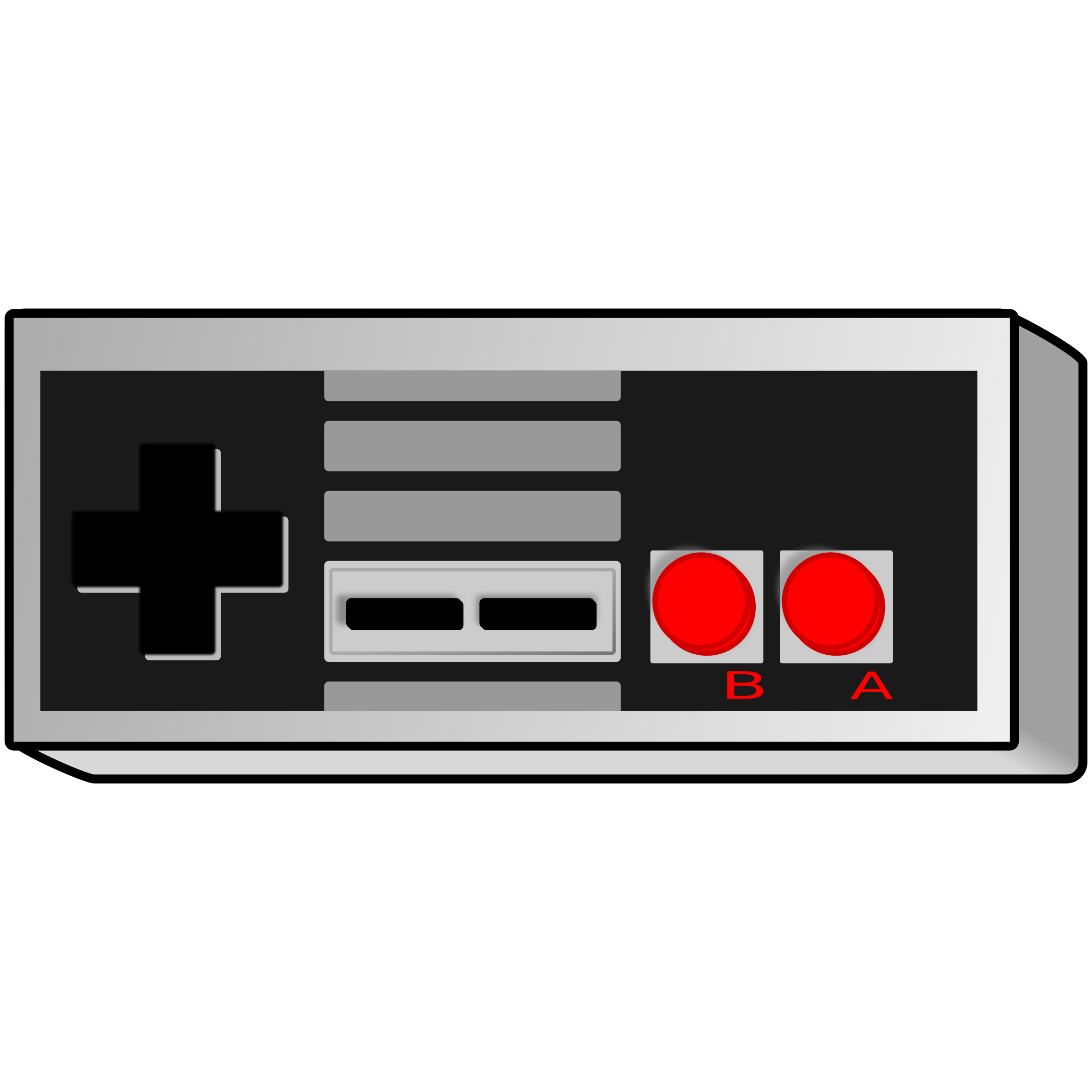 Old School Video Game Clipart.