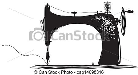 Sewing machine Clip Art and Stock Illustrations. 2,189 Sewing.