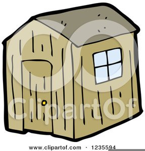 Old Shack Clipart.