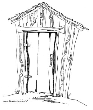 Really Rustic & Weatherbeaten Hand Drawn Sheds.