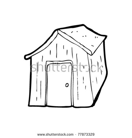 Vector Images, Illustrations and Cliparts: old garden shed cartoon.