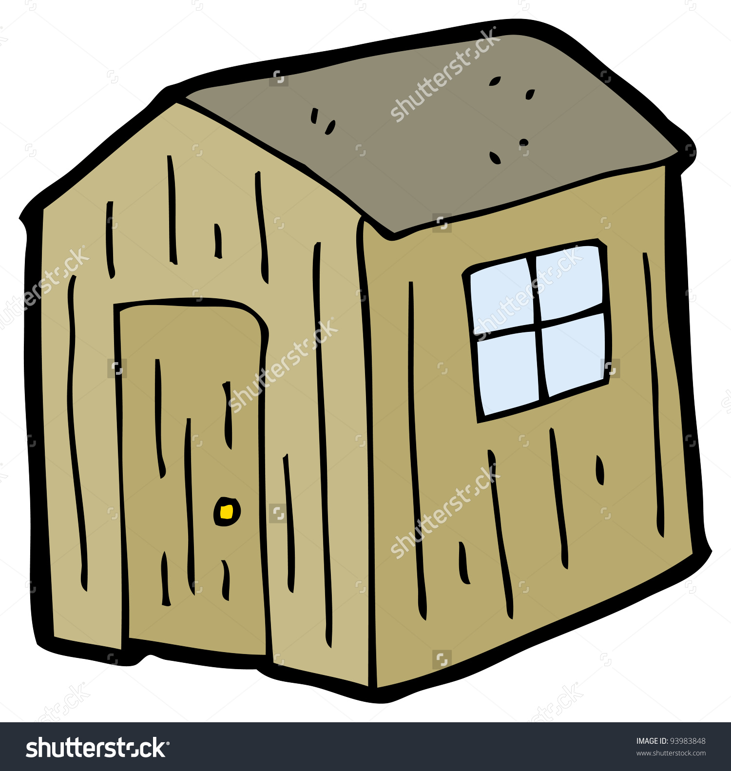 Old Shed Clipart