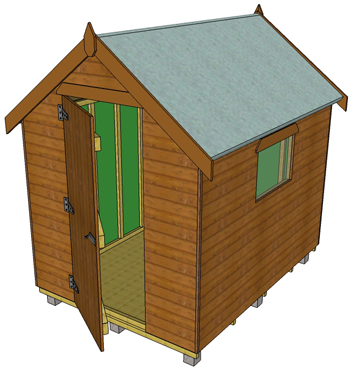 Shed clipart.